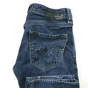 Diesel Larkee Regular Straight Dark Wash Jeans